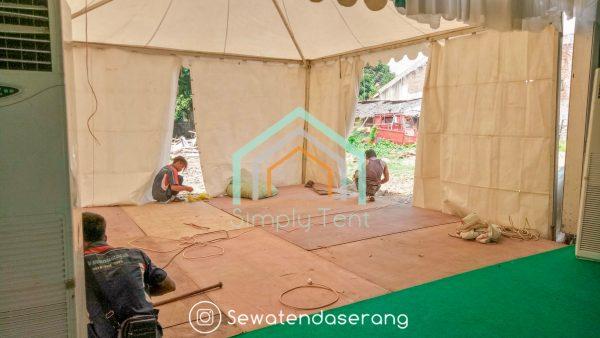 SEWA FLOORING (ALAS PAPAN + kARPET) di Banten (Serang Cilegon Pandeglang Lebak Tangerang)