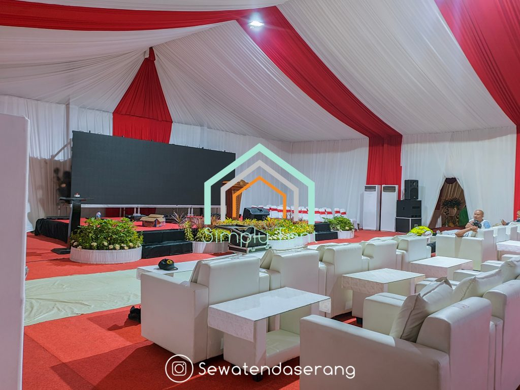 Sewa Tenda Roder di Banten (Serang Cilegon Pandeglang Lebak Tangerang)
