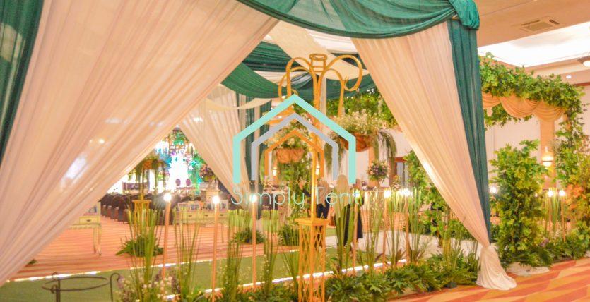 Sewa Tenda Dekorasi Serut di Cilegon Banten